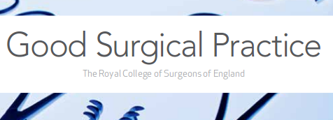 Good surgical practice