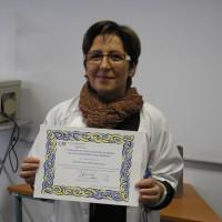 Rosario Pérez, lavado manos