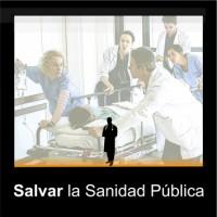 112 Salvar la Sanidad Pública 3x3 cm