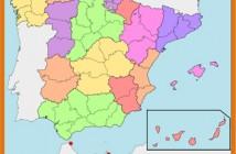 120 Mapa de España 3x3 cm