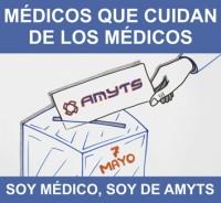 123 Medicos que cuidan 3x3 cm