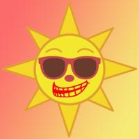 133 Sol-calor 3x3 cm