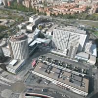 136 Hospital La Paz 3x3 cm