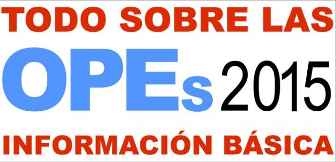 TODO SOBRE LAS OPES DE ESPECIALIDADES HOSPITALARIAS