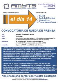 2015 10 09 Convocatoria Rueda de Prensa AMYTS