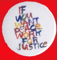 146 Trabaja por la justicia 3x3 cm