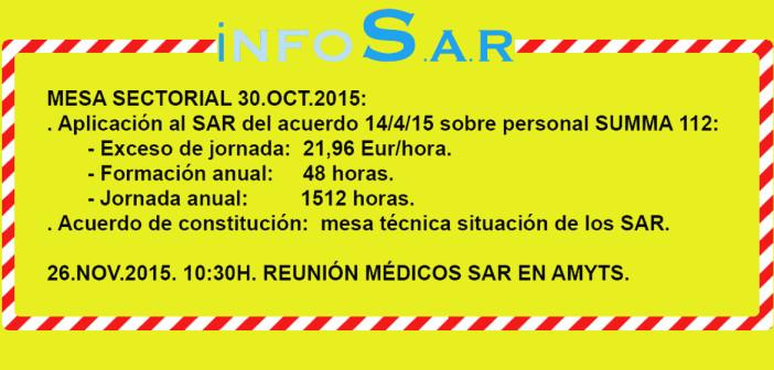 Aplicación de acuerdos SUMMA al SAR