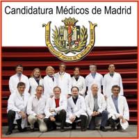 12 Candidatura Médicos de Madrid 3x3 cm