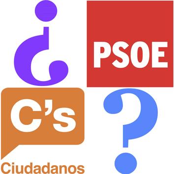 Actualidad psoe y ciudadanos anuncian un acuerdo de for Acuerdo de gobierno psoe ciudadanos