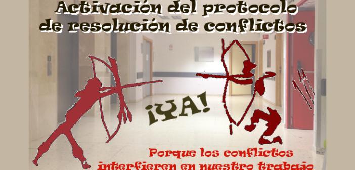 Protocolo de resolución de conflictos en instituciones sanitarias