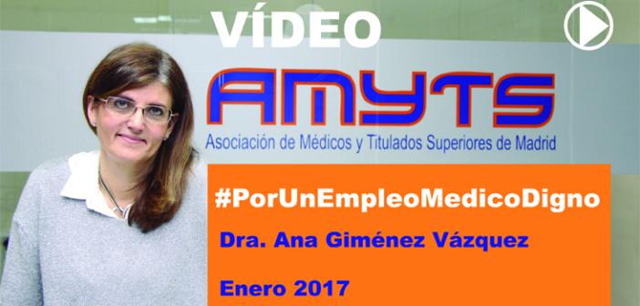 Video AMYTS #Por Un Empleo Medico Digno