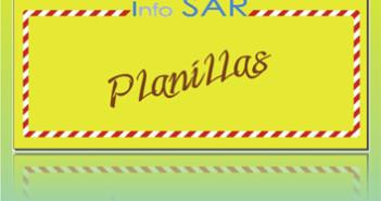 204 Planillas SAR 3x3 cm