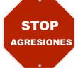 208 Stop Agresiones 3x3 cm