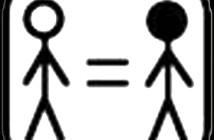 232 Igualdad 3x3 cm