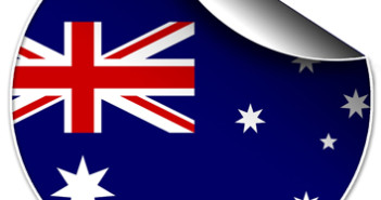 250 Australia 3x3 cm