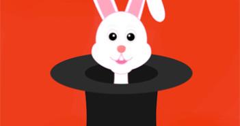 250 Conejo en la chistera 3x3 cm