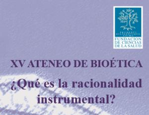 XV Ateneo Bioetica