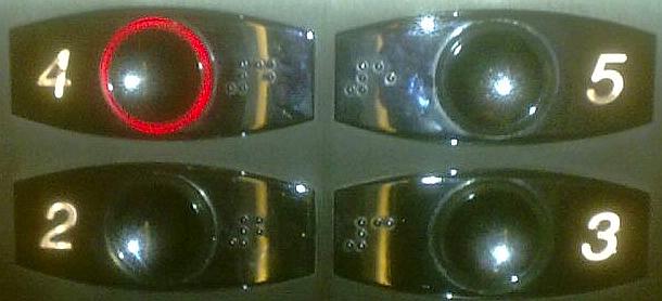 RMM015 botonera ascensor
