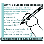 100 AMYTS cumple 15 x 15 mm