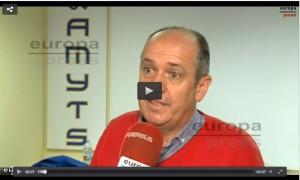 Dr. Gabriel del Pozo, vicesecretario general de AMYTS. ver VÍDEO PINCHANDO AQUÍ (dura 4'27'').