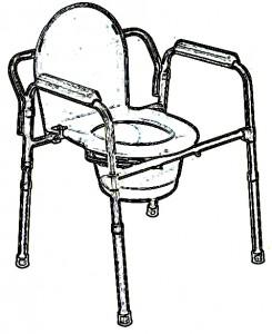 Silla-WC portátil