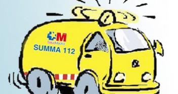 120 Ambulancia SUMMA 3x3 cm