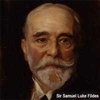 121 Luke Fildes 3x3 cm