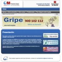 156 Gripe-Portal Salud 3x3 cm
