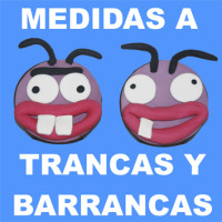 167 Trancas y Barrancas 3x3 cm