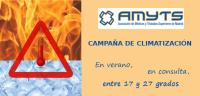 Campaña AMYTS climatización