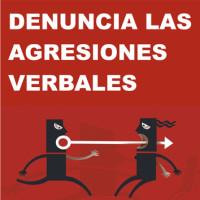190 Denuncia agresiones verbales 3x3 cm
