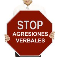 191 STOP Agresiones 3x3 cm