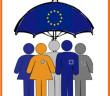 192 Paraguas UE 3x3 cm