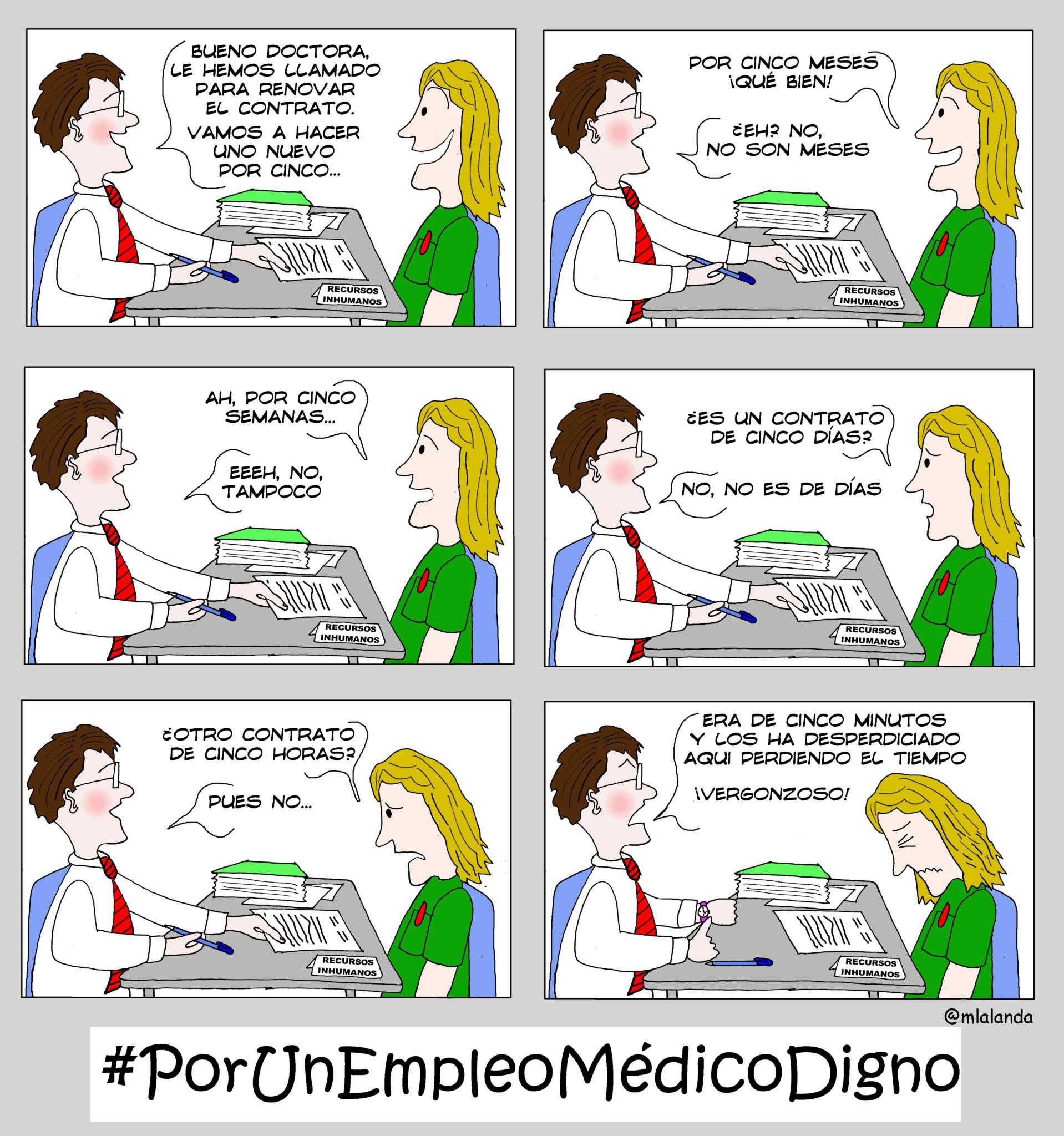 PorUnEmpleoMedicoDigno