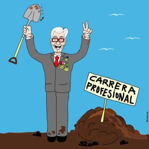 enterrar la carrera  profesional