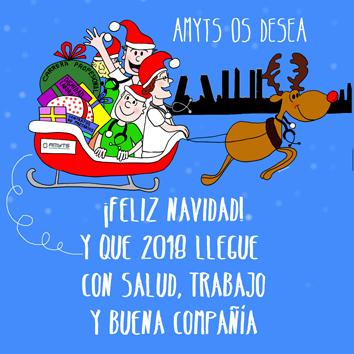 Imagenes Felicitacion Navidad 2019.Actualidad Amyts Os Desea A Todos Una Feliz Navidad Y Que
