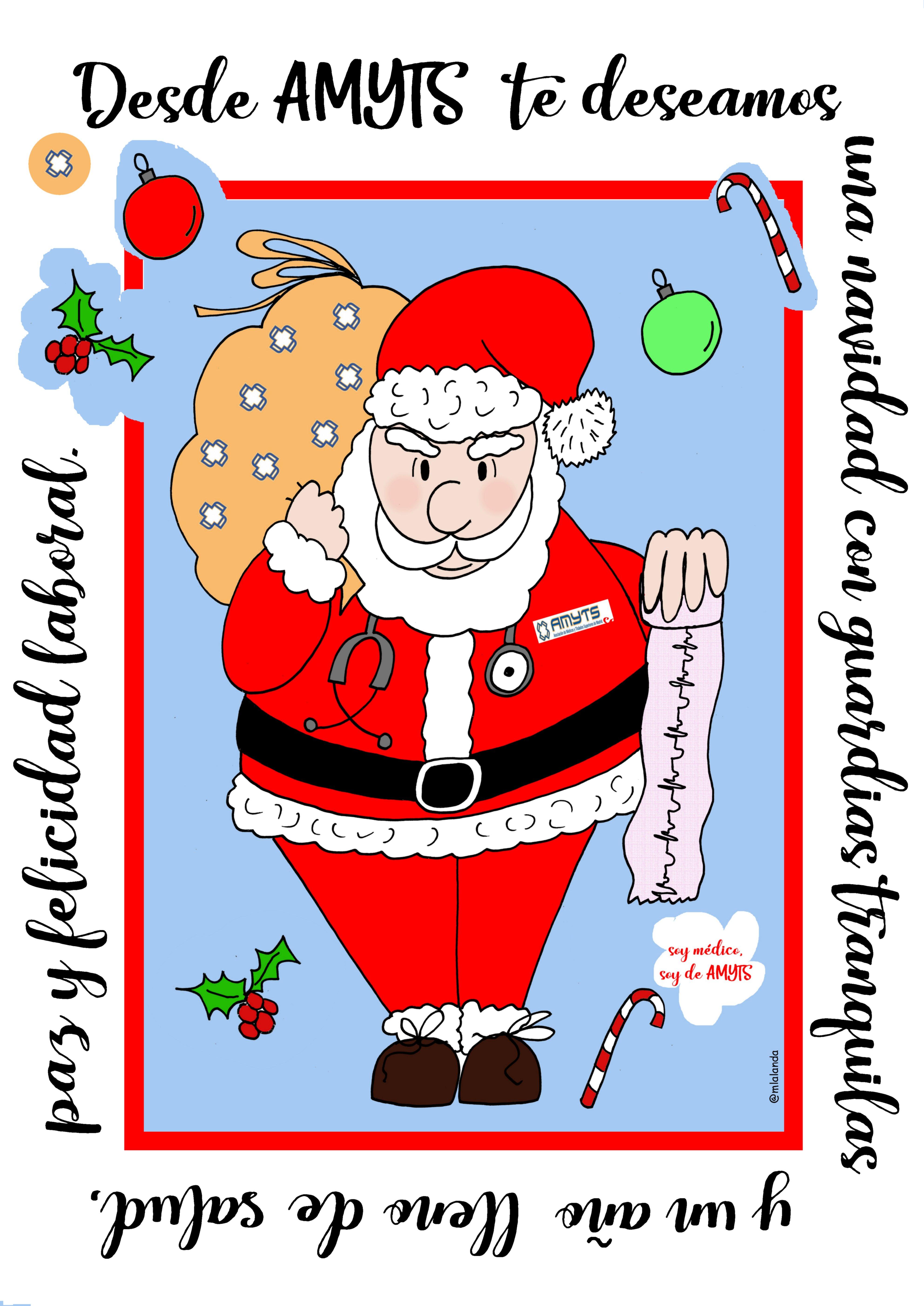 Imagenes Felicitacion Navidad 2019.Amyts Os Desea Feliz Navidad Y Un Gran Ano 2019 Amyts