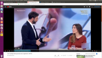 20190306 Sheila en TVE con presentador