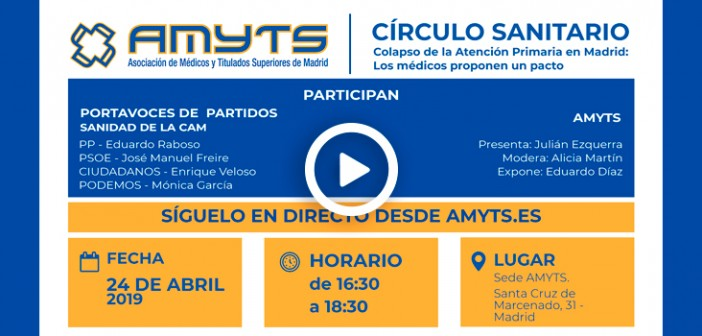 XVIII Círculo Sanitario AMYTS 2019