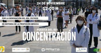 cartel concentracion 24n